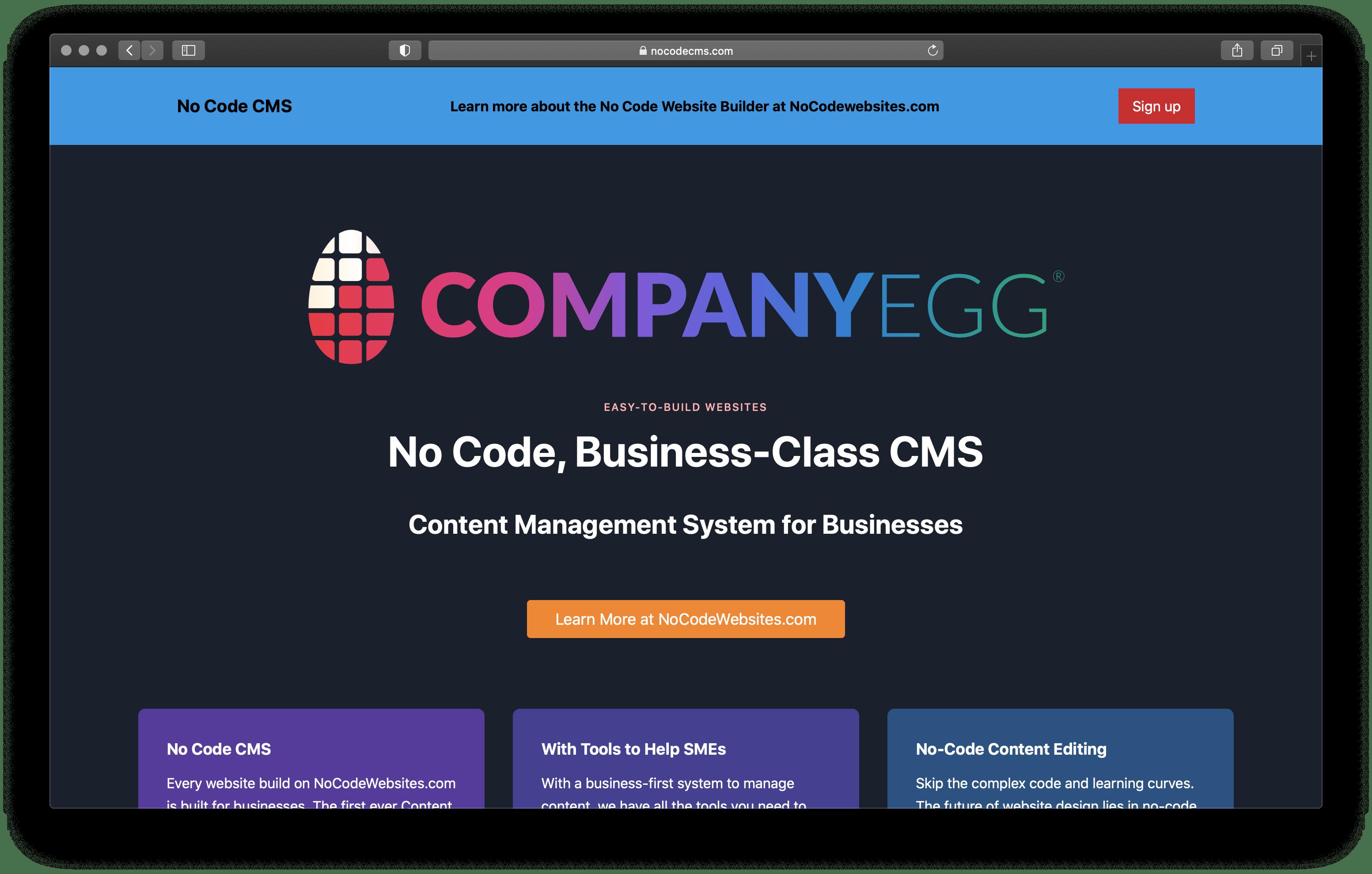 NoCodeCMS.com